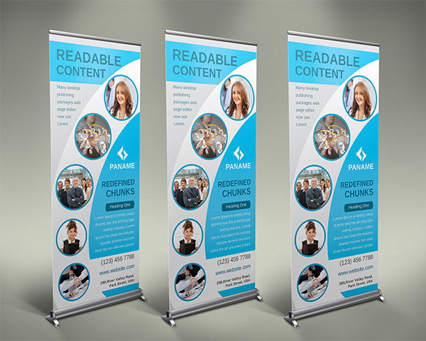 Roll-Up / Pull-Up Banners - INF-P Designs & Print